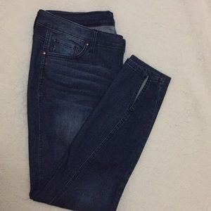 Crown & Ivy skinny jeans with split at ankle Sz 14